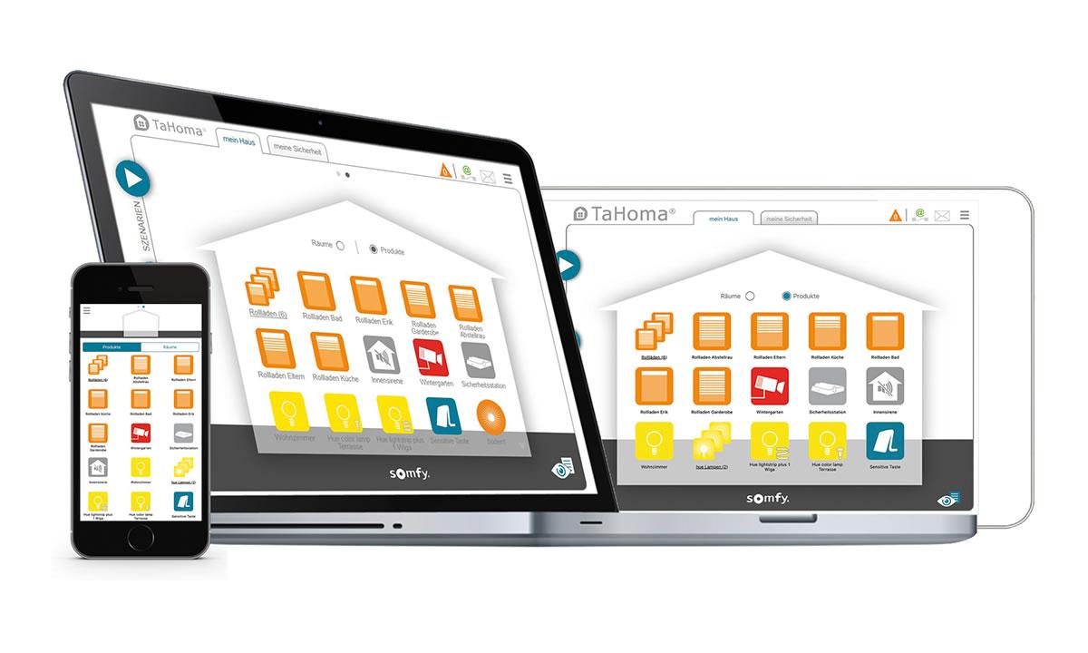 somfy TaHoma® Interface